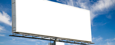 Stock photo of billboard (Thinkstock)