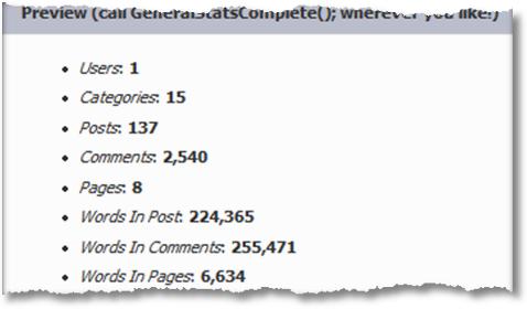 occams razor blog stats