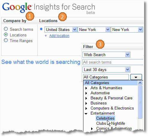 google insights for search new york celebrities