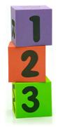 123 foam blocks