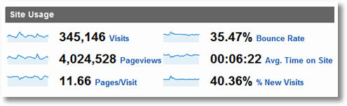 google analytics site overview 1
