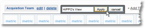 add tab to a custom report