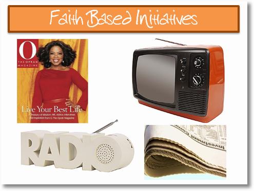 faith based initiatives