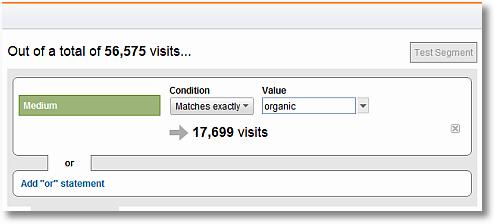 organic search segment