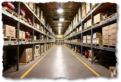 very large warehouse