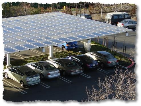 solary array car port google