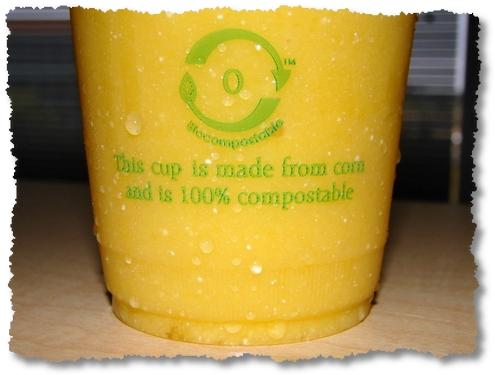 biocompostable cup google