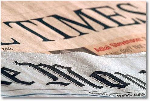 newspapers media