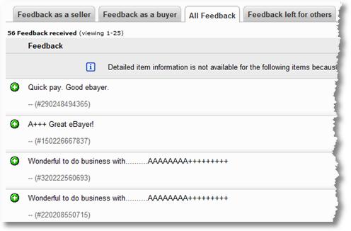 ebay reviews