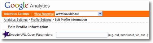 url query configuration