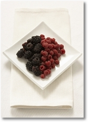blueberries and raspberries 13