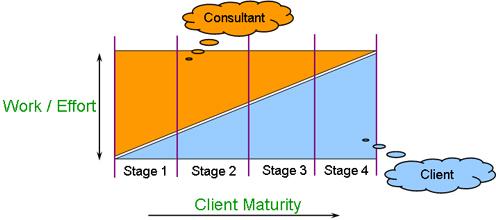 consultant client engagement process