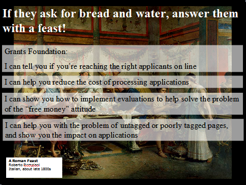 answer with a feast