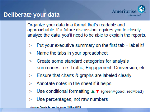 delibrate your data