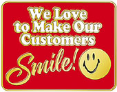 customers 20smile