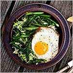Asparagus and Eggs Take Center Stage
