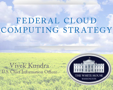 Federal cloud computing report cover page