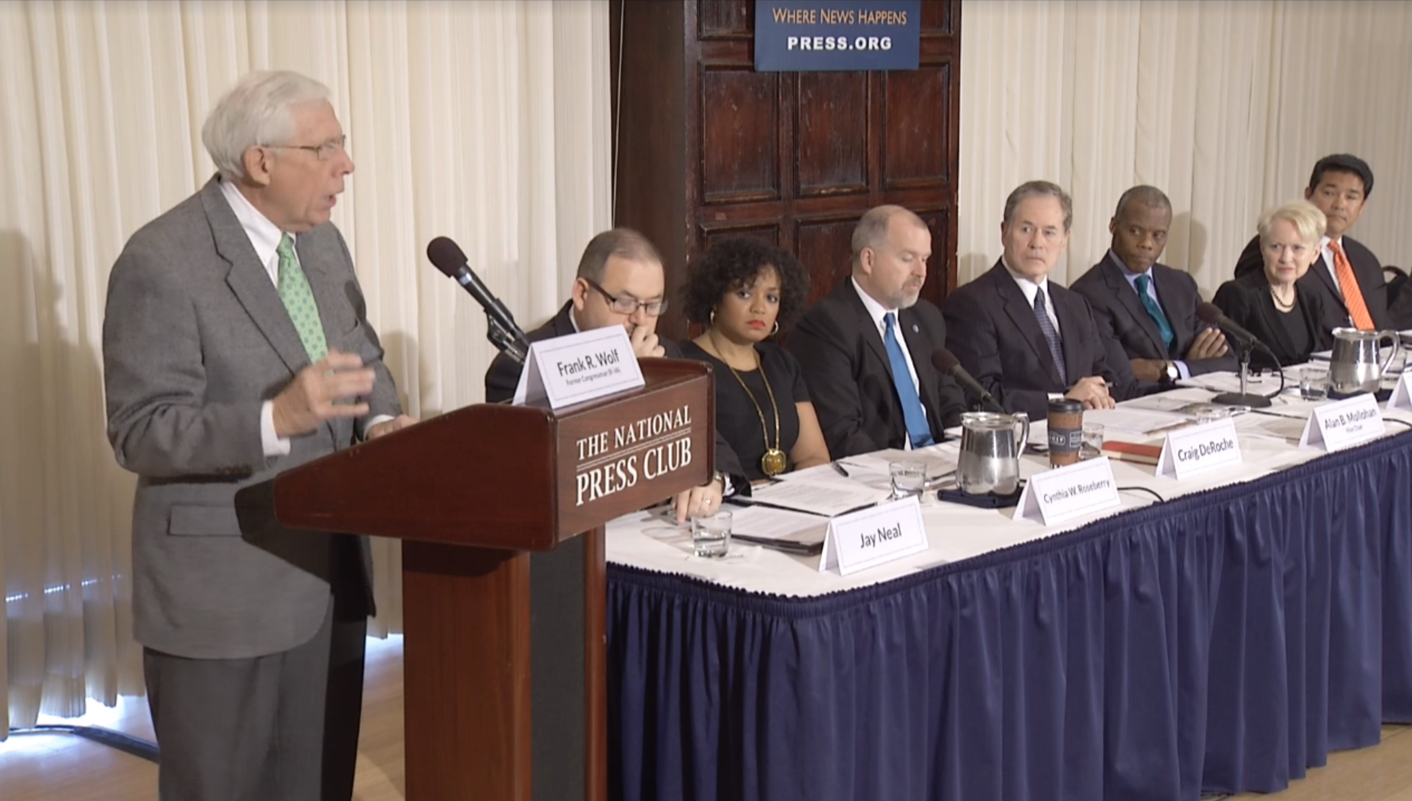 Watch the Press Conference and Public Briefing on the Final Recommendations of the Colson Task Force