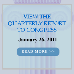 Image link to the Quarterly Report to Congress.