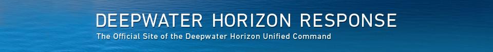 Deepwater Horizon Response Banner