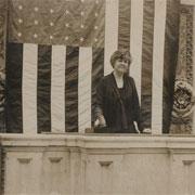 Edith Nourse Rogers at Rostrum