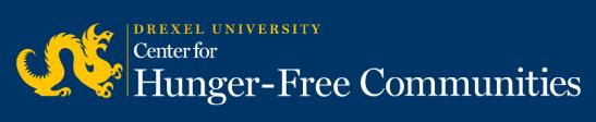 Drexel Univeristy Center for Hunger-Free Communities