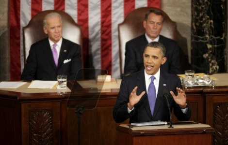 President Obama delivers a speech on jobs to a joint session of Congress