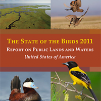 GAP data contributed to the 2011 State of the Birds report