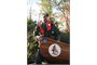 USACE Natural Resources Manager Bart Dearborn helps launch Wilderness Inquiry canoes into the Potomac River.