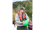 USACE Natural Resources Manager Bart Dearborn gives a Water Safety class to DC Middle school students prior to canoeing in the Potomac River