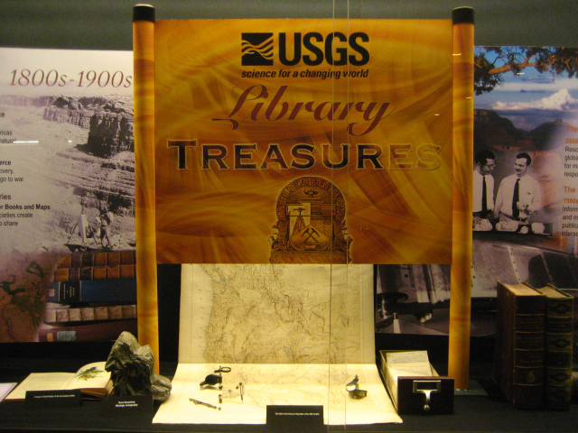 Public Lecture: Treasures of the USGS Library
