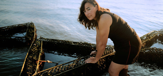 Homepage splash: Judy Haner in Gulf waters 640x300