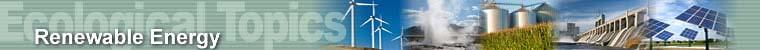Ecological Topics - Renewable Energy