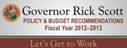 Governor Scott's Policy and Budget