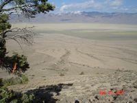Newark Valley, in east-central Nevada; Summer 2003.