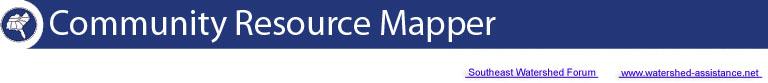 community resource mapper header