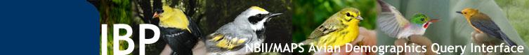 NBII MAPS Web-Based Query Interface