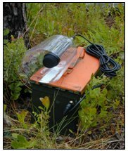 Automated frog call data logger (FL) - click to enlarge image