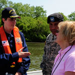 Operation Pelican Congressional visit