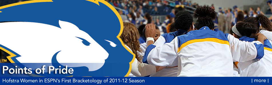 Points of Pride - Hofstra In ESPN's First Bracketology Of 2011-12 Season  - more