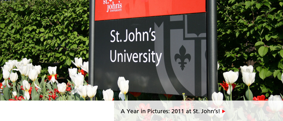 A Year in Pictures: 2011 at St. Johns!