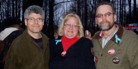 Paul, Julie and Criag Saunter
