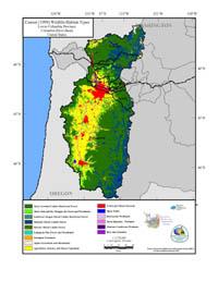 Lower Columbia Current Wildlife Habitat Type Map
