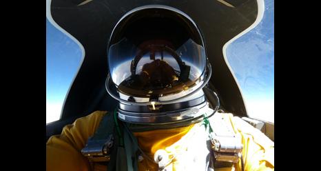ER-2 pilot Tom Ryan