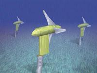 Tidal energy turbines [Image: Oak Ridge National Laboratory]