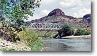 Bridge over Rio Grande River.