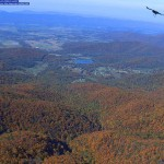 view of the Shenandoah Valley from a USGS camera placed on Stony Man Mountain in the Shenandoah National Park to record forest leaf color and condition through time.