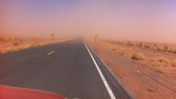 Dust Storms Roll Across Arizona
