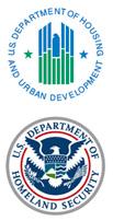 HUD and DHS seals
