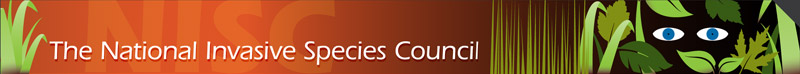 National Invasive Species Council Logo Image